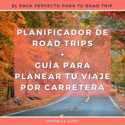 planificador road trip + guia road trip